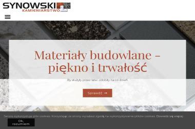 Zakład Kamieniarski Szymon Synowski - Schody metalowe Łysomice