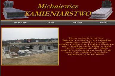 Zakład Kamieniarski Michniewicz Daniel Michniewicz - Blaty kamienne Bargłów Kościelny