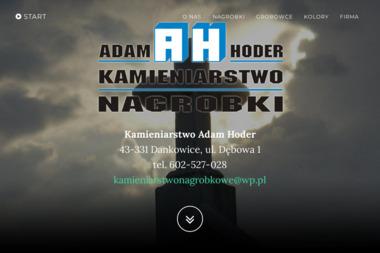 Adam Hoder Kamieniarstwo Hoder - Nagrobki Dankowice