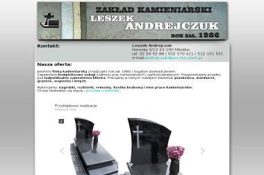 Andrejczuk Leszek. Kamieniarstwo nagrobkowe, kamieniarstwo budowlane - Market Budowlany Mikołów