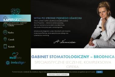 Kamińska Anna - Specjalistyczny Gabinet Stomatologiczny - Ortodonta Brodnica