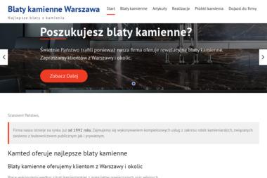 Kamted. Usługi kamieniarskie, kamieniarstwo budowlane - Schody Metalowe Wewnętrzne Sobienie Kiełczewskie Pierwsze
