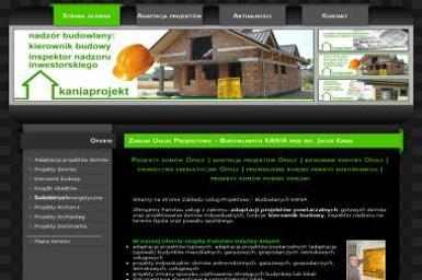 Kaniaprojekt Zakład Usług Projektowo-Budowlanych Kania. Kierownik budowy, adaptacje projektów - Nadzór budowlany Popielów