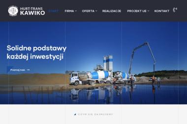 Hurt-Trans Kawiko - Skład budowlany Więcbork