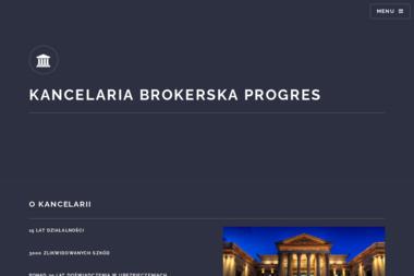 Aleksander Romanowski Kancelaria Brokerska Progrees - Finanse Busko-Zdrój