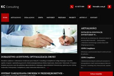 KC Consulting Jerzy Wawryszczuk - Kserokopiarki Poleasingowe Poznań