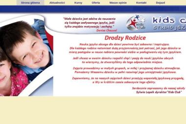 Kids Club Sylwia Lepsik - Nauczyciele angielskiego Kalisz
