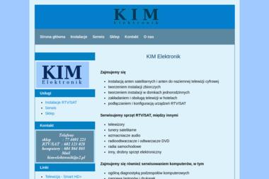 KIM Elektronik - Wypożyczalnia Sprzętu Budowlanego Czarnowąsy
