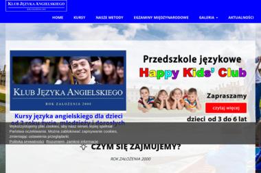 Klub Języka Angielskiego SM - Nauczyciel Angielskiego Suwałki