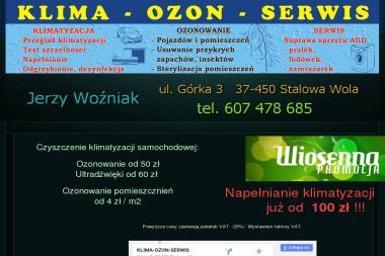 Klima-Ozon-Serwis. Ozonowanie, klimatyzacja, napełnianie klimatyzacji - Dezynsekcja i deratyzacja Stalowa Wola