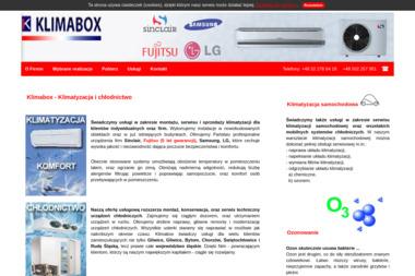 Klimabox. Klimatyzacja i chłodnictwo - Klimatyzacja Zabrze