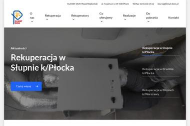 KLIMAT-DOM - Klimatyzacja Płock