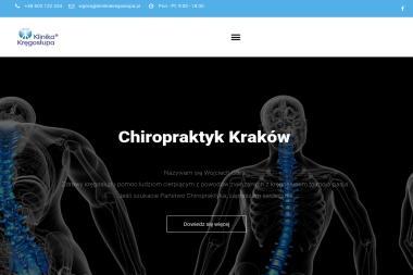 Klinika Kręgosłupa - Fizjoterapeuta Kraków