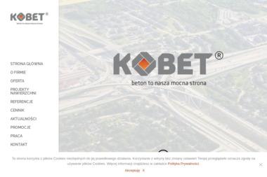Kobeton Wytwórnia Materiałów Budowlanych Bogusław Kołodziejczyk - Materiały Budowlane Sucha Beskidzka