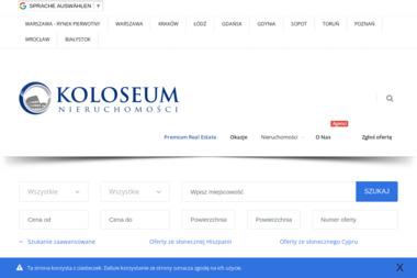 Nieruchomości Koloseum. Rafał Szulc - Agencja nieruchomości Legionowo