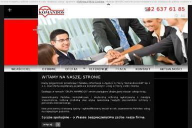 Komandos-Łódź Sp. z o.o. - Agencja ochrony Łódź
