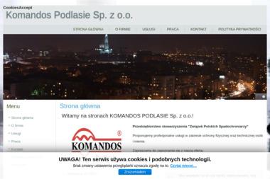 Komandos-Podlasie - Agencja ochrony Białystok