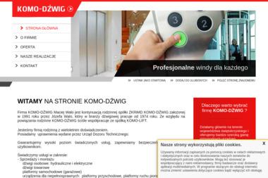 KOMO-DŹWIG Maciej Walo - Maszyny budowlane Kielce