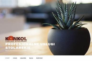 Zakład Stolarski Konkol. Marek Konkol - Schody metalowe Kartuzy
