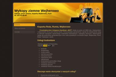 Koparka koparko-ładowarka PU-H MATI - Transport ciężarowy krajowy Reda