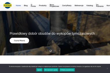 Kopras Sp. z o.o. - Niwelacja Terenu Szklarnia