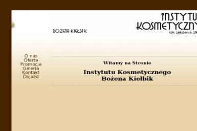 Bożena Kiełbik Instytut Kosmetyczny - Makijaż Kraków