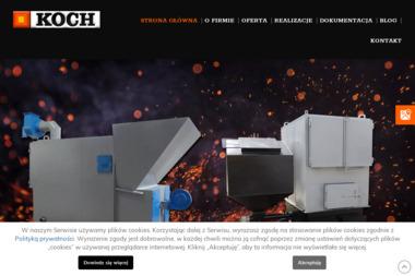 Ślusarstwo Usługowe-Kotły C.O. Edward Koch. Kotły centralnego ogrzewania, producent kotłów co - Piece Dwufunkcyjny Strzelce Wielkie