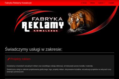 Usługowe Wytwarzanie Szyldów Mieczysław Kowalczyk - Firma Reklamowa Zduńska Wola