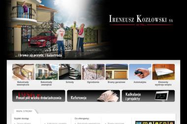 Ireneusz Kozłowski SA - Konstrukcje stalowe Białystok