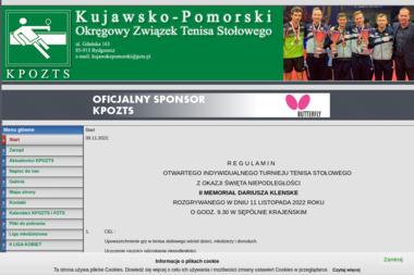 Kujawsko Pomorski Okręgowy Związek Tenisa Stołowego - Joga Bydgoszcz
