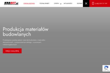 Krabet Zakład Produkcyjny w Steblowie - Sklep Budowlany Steblów
