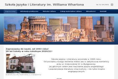 Szkoła Języka i Literatury im. Williama Whartona - Nauka i edukacja Bydgoszcz