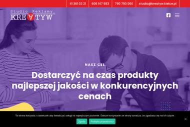 Studio Reklamy Kreatyw Marcin Hauer - Usługi Reklamowe Kielce