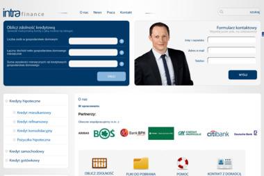INTRA FINANCE - Kredyt hipoteczny Olsztyn