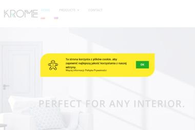 Krome Mariusz Moder - Sprzedaż Maszyn Budowlanych Drawsko