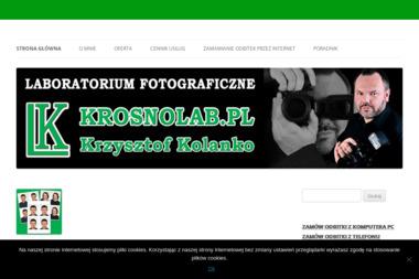Krosnolab.pl Krzysztof Kolanko. Zakład fotograficzny - Fotografowanie Krosno