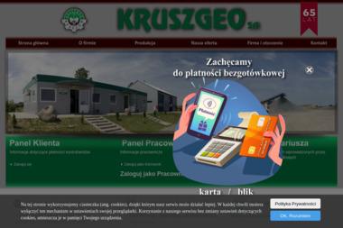 Kruszgeo S.A. - Geolog Rzeszów