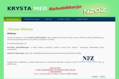 Zakład rehabilitacji leczniczej Krysta-Med - Rehabilitanci medyczni Zduńska Wola