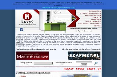 FPHU Krzyś Import Export Krzysztof Kalinowski - Regały Metalowe Wrocław