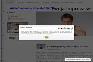 Oscar Krzysztof Pietrzak. Wideofilmowanie, filmowanie - Wideofilmowanie Wieluń
