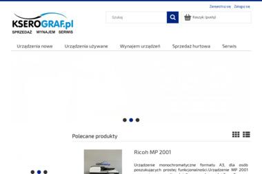 Kserograf.pl. Drukarki, kopiarki - Kserokopiarki Częstochowa
