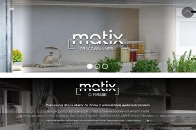 Firma Matix. Meble kuchenne, szafy - Meble na wymiar Legnica