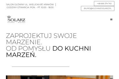 Kuchnie Solarz - Meble na wymiar Wieliczka