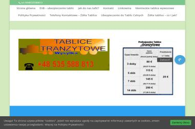 Logistic. Tablice, tablice wywozowe - Usługi Reklamowe Lipiany