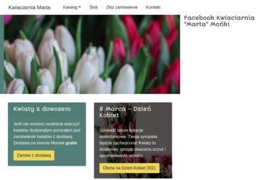Kwiaciarnia Marta. Ryszard Boguski - Kosz ze Słodyczami Mońki