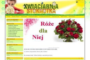 Kwiaciarnia Stokrotka - Kosze prezentowe Bochnia