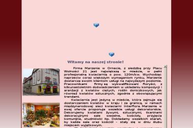 Marzenie Kwiaciarnia. Marzanna W.Fabrykiewicz-Rogalska - Kosze prezentowe Orneta