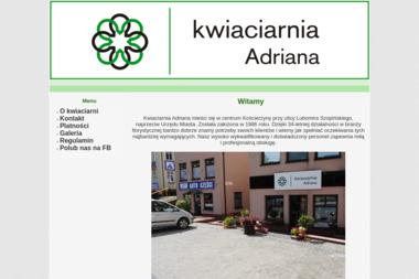 Kwiaciarnia Adriana - Zaproszenia Kościerzyna