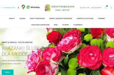 Kwiaty w Oknach FHU - Kosze prezentowe Częstochowa