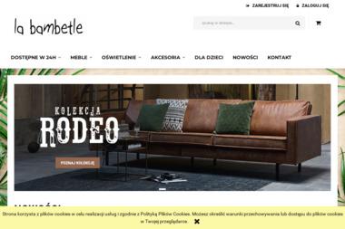 Designerskie meble i akcesoria La Bambetle - Meble z Litego Drewna Łódź